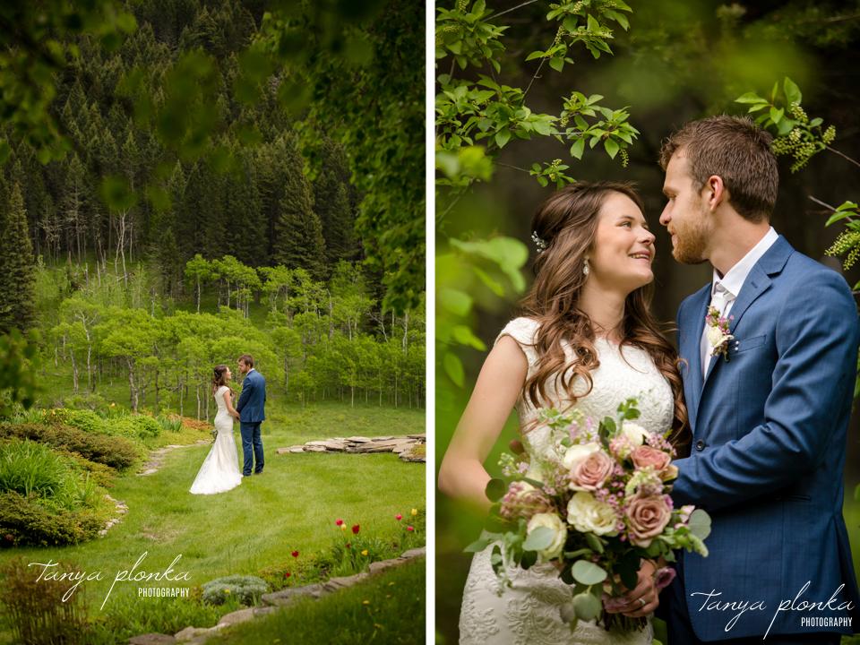 Julie & Nathan, Lethbridge spring wedding photos