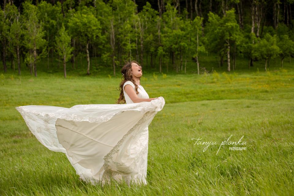 Julie & Nathan, outdoor spring wedding portraits