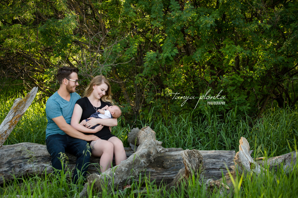 Indian Battle Park newborn photography session