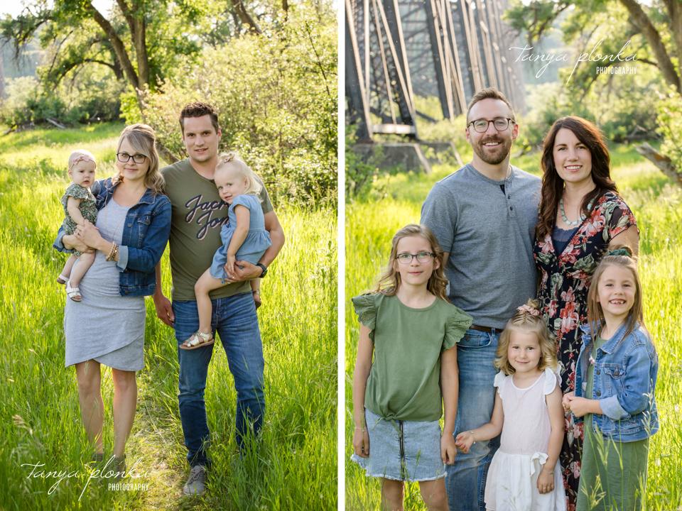 Indian Battle Park extended family photos