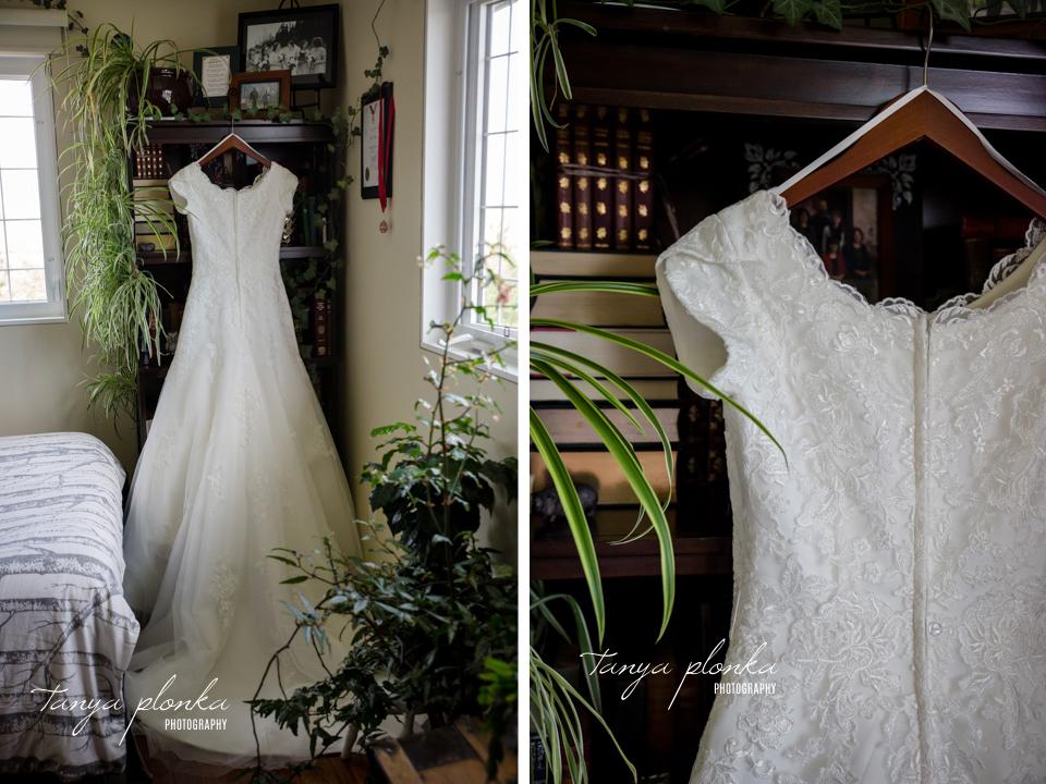Nicole & Brayden, Skiff backyard wedding