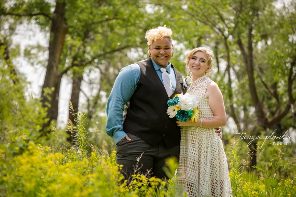 Kit & Tristian, Lethbridge same sex wedding photography