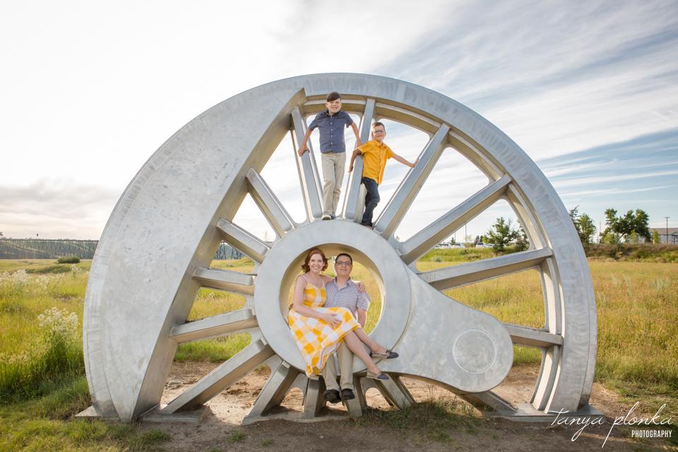 Galt Museum art sculpture family photos