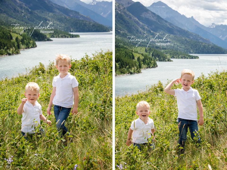 Waterton family photo session