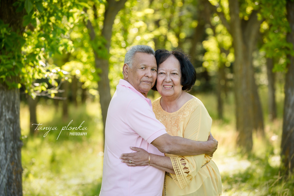55th anniversary photo session