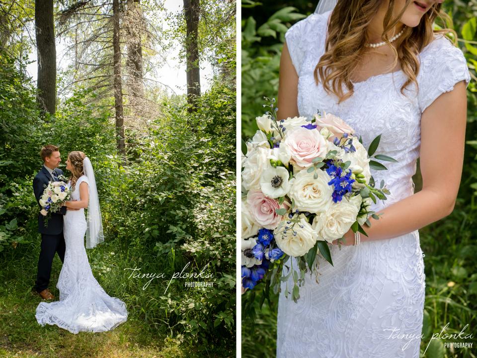 Chelsey & Rick, Park Lake wedding photos