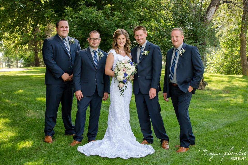 Chelsey & Rick, Lethbridge summer wedding