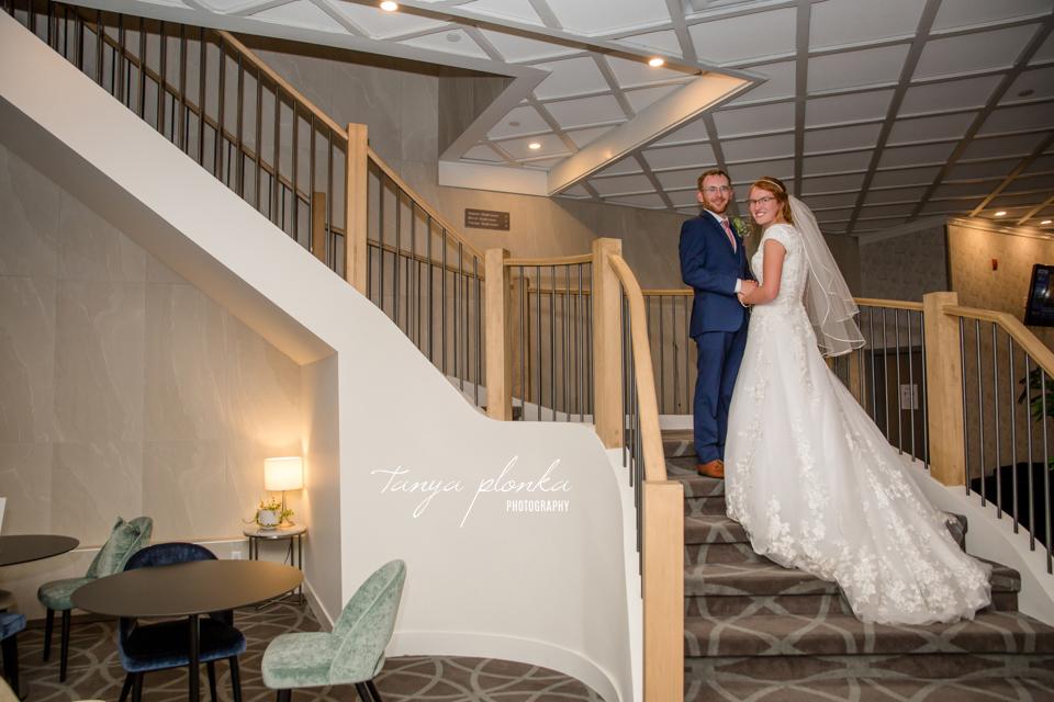 Elsa & Larry, Lethbridge Sandman Signature Hotel wedding reception