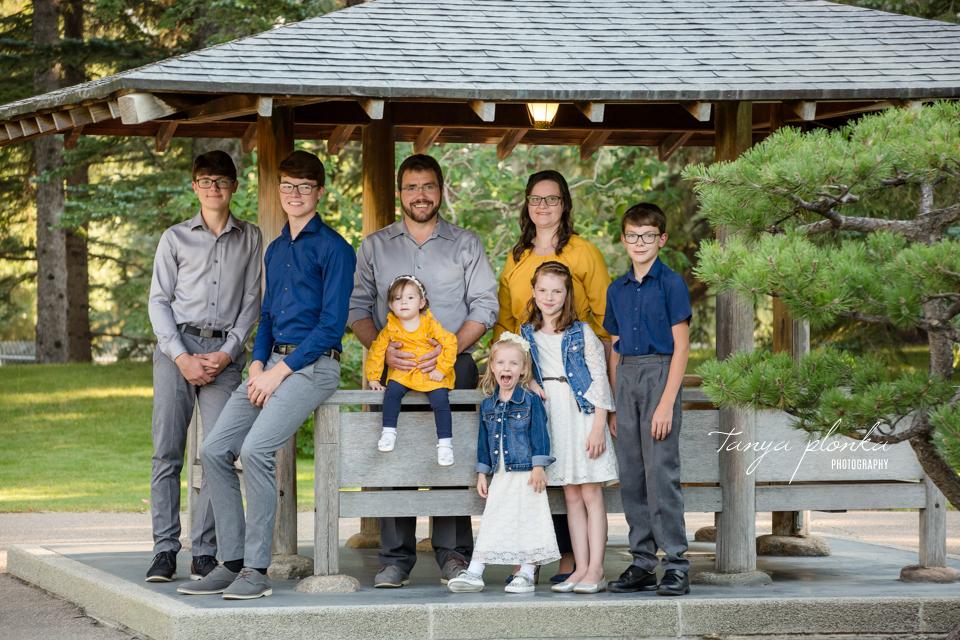 Japanese Garden family photos