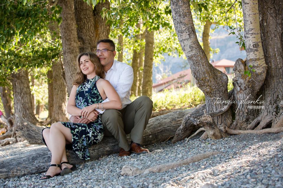 Waterton lakeshore wedding elopement