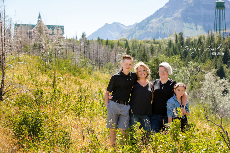 Waterton summer family photos