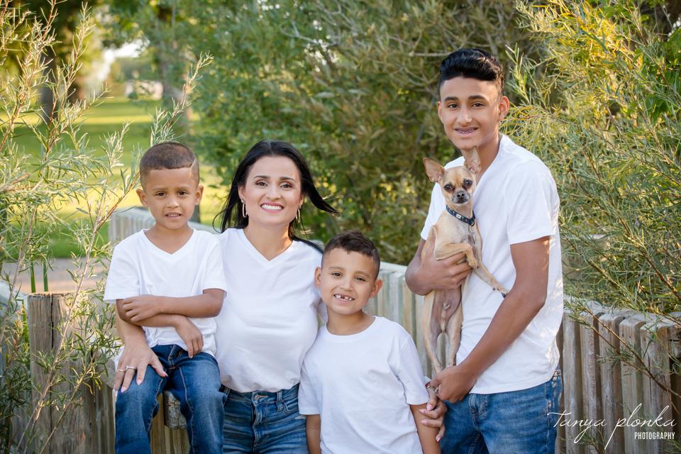 Mom and Sons Photos at Nicholas Sheran Park