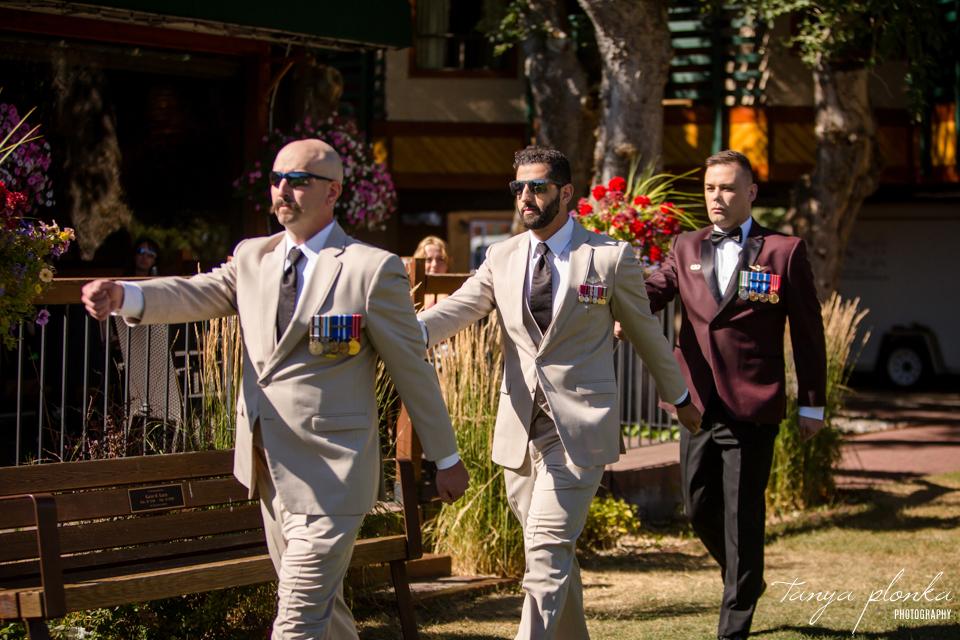 Margie & Daryl, Intimate Bayshore Inn Wedding in Waterton
