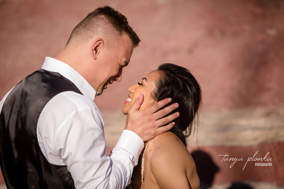 Margie & Daryl, Red Rock Canyon wedding photos in Waterton