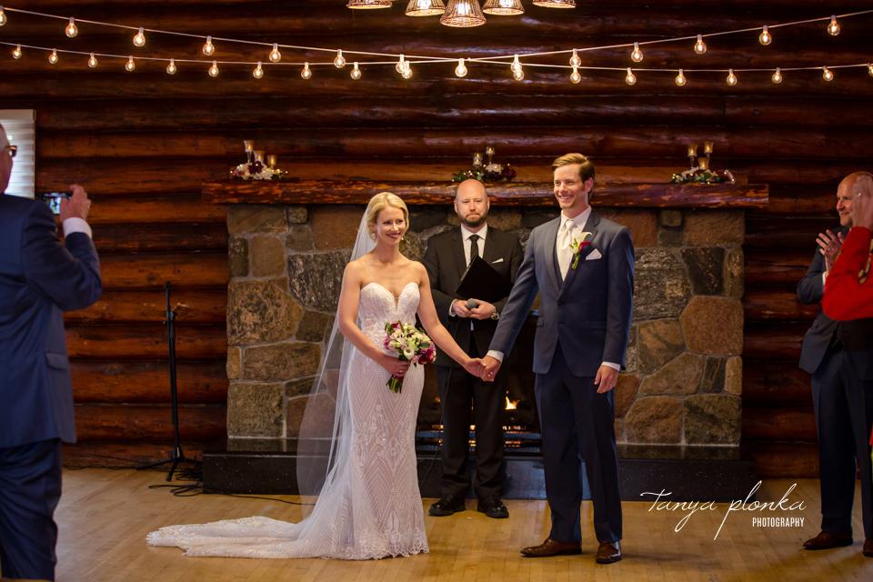 Francine & Clayton, Edmonton Pioneers Cabin Wedding