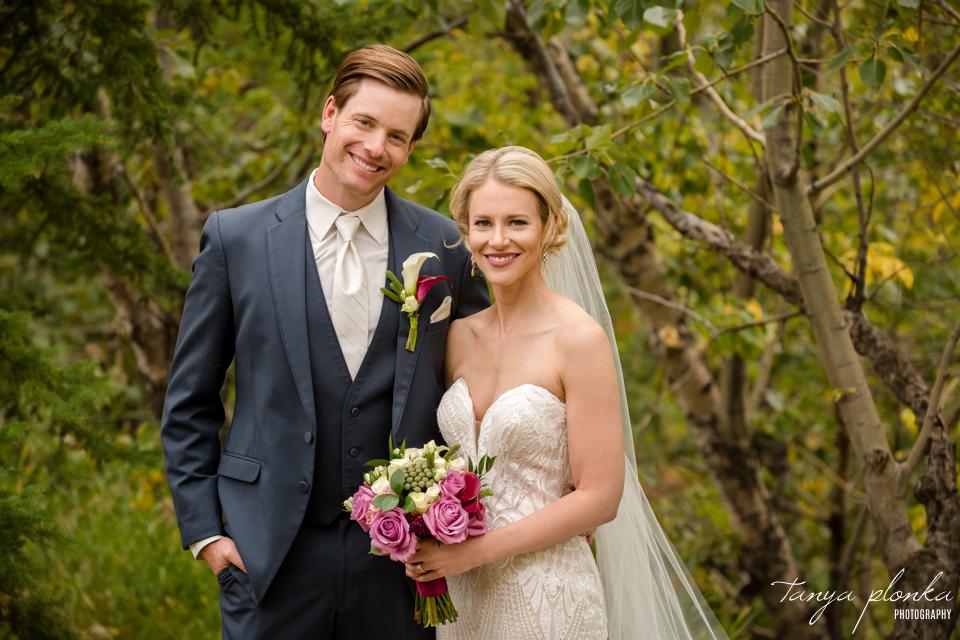 Francine & Clayton, Nellie McClung Park wedding photos