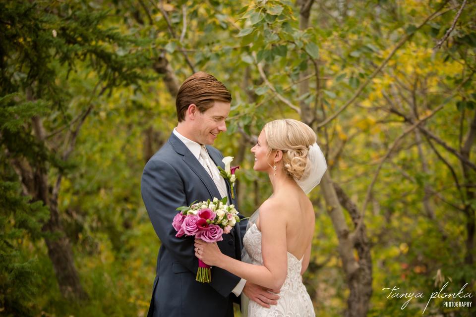 Francine & Clayton, Edmonton outdoor bridal portraits