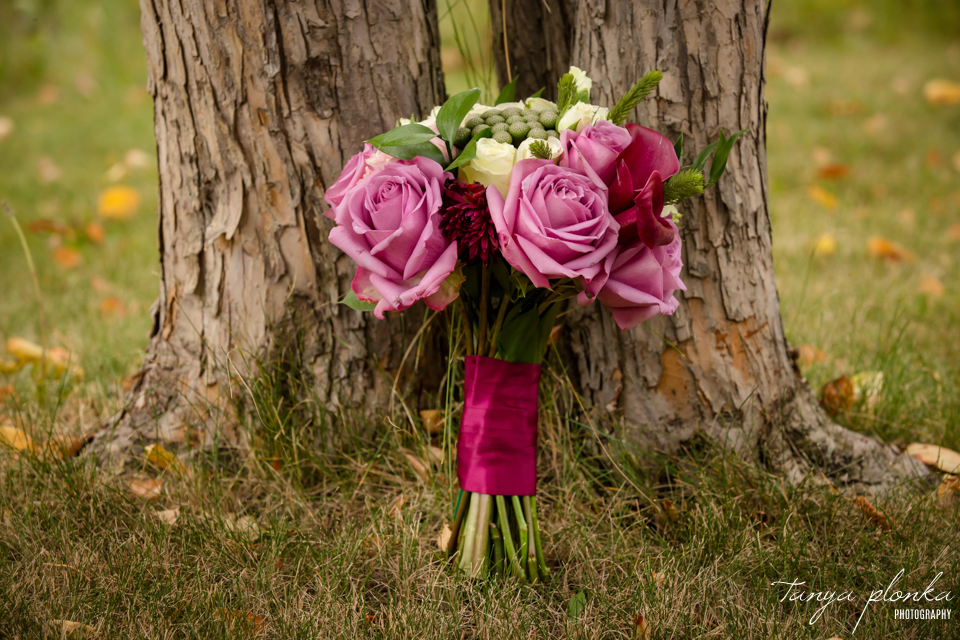 Francine & Clayton, Edmonton wedding bouquet