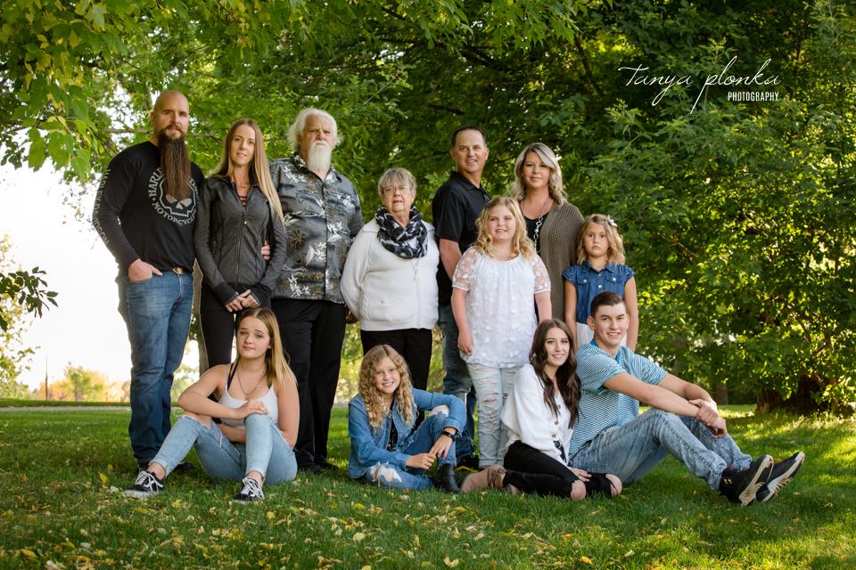 Nicholas Sheran Park family photos