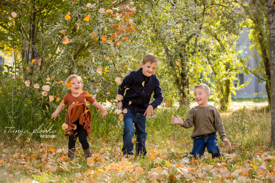 Aperture Park fall family session