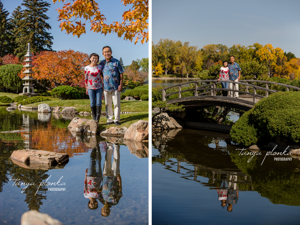 Nikka Yuko Japanese Garden autumn portraits