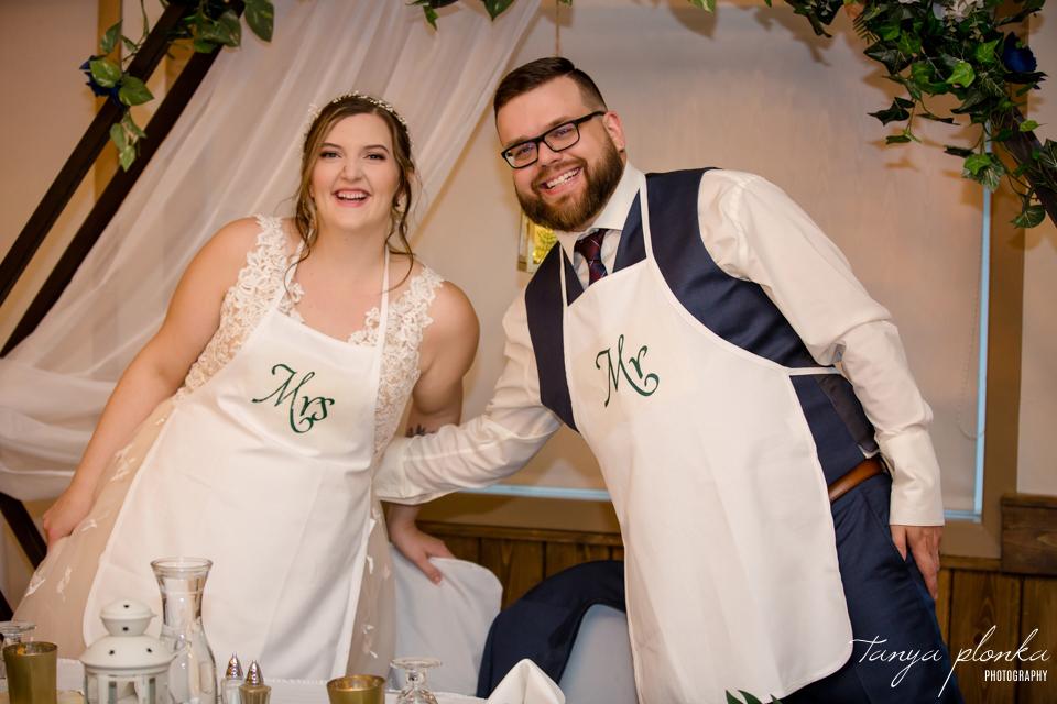 Emily & Cody, Waterton Lakes Lodge wedding reception