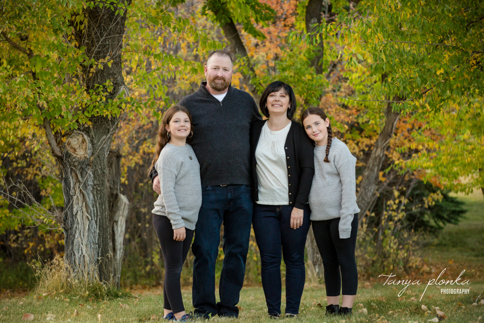 annual fall family photos in Lethbridge