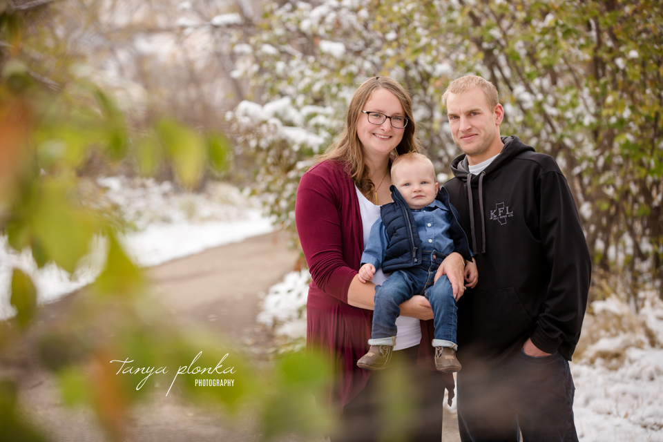 snowy river bottom family photos
