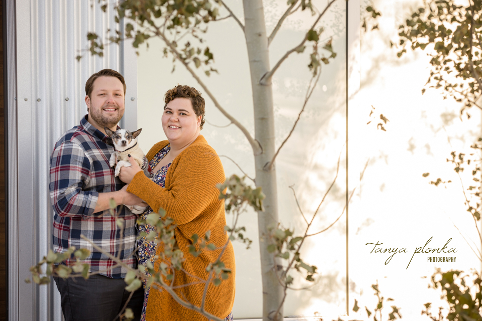 outdoor couples photo session
