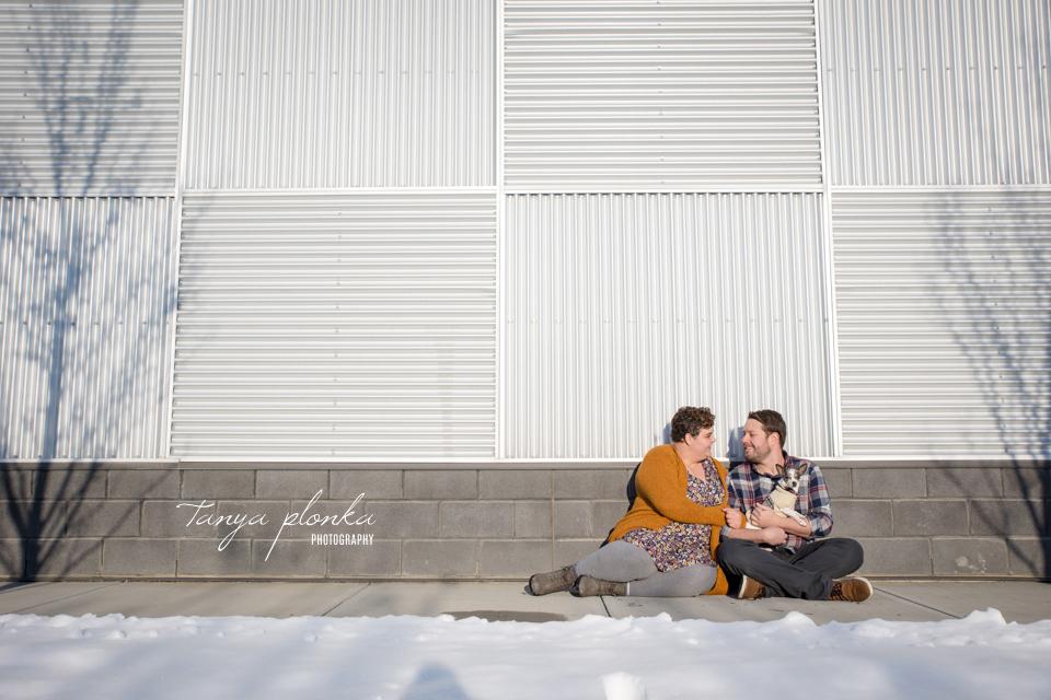 fun West Lethbridge couples photos