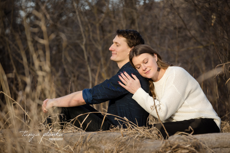 Lethbridge river bottom couples session