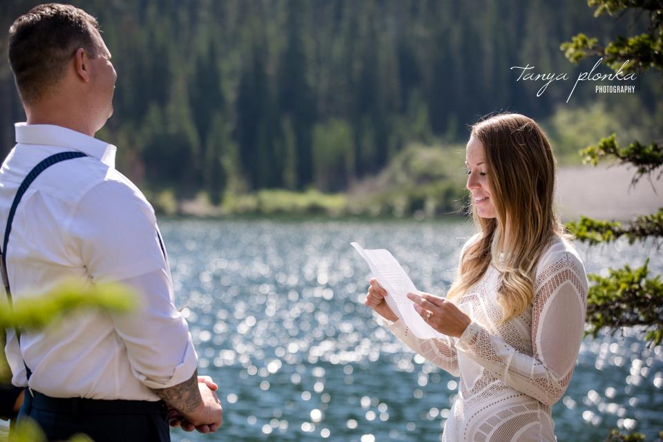 Lexi & Aaron, Window Mountain Lake adventure elopement