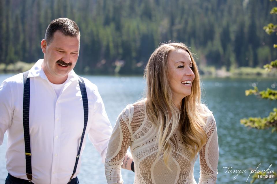 Lexi & Aaron, Crowsnest Pass mountain wedding