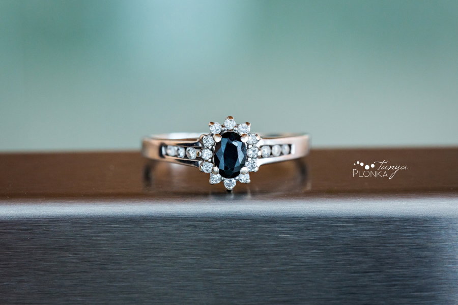 Beautiful engagement ring photography