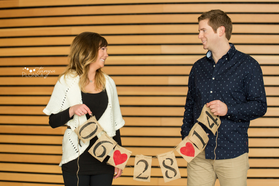 Save the Date engagement photography