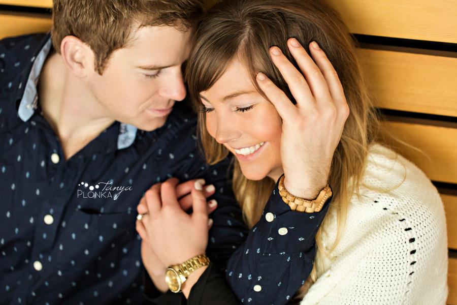 Candid Lethbridge engagement photography
