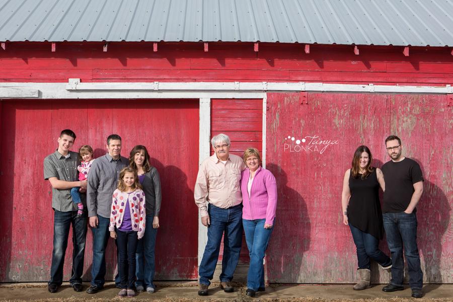 Lethbridge farm extended family photos