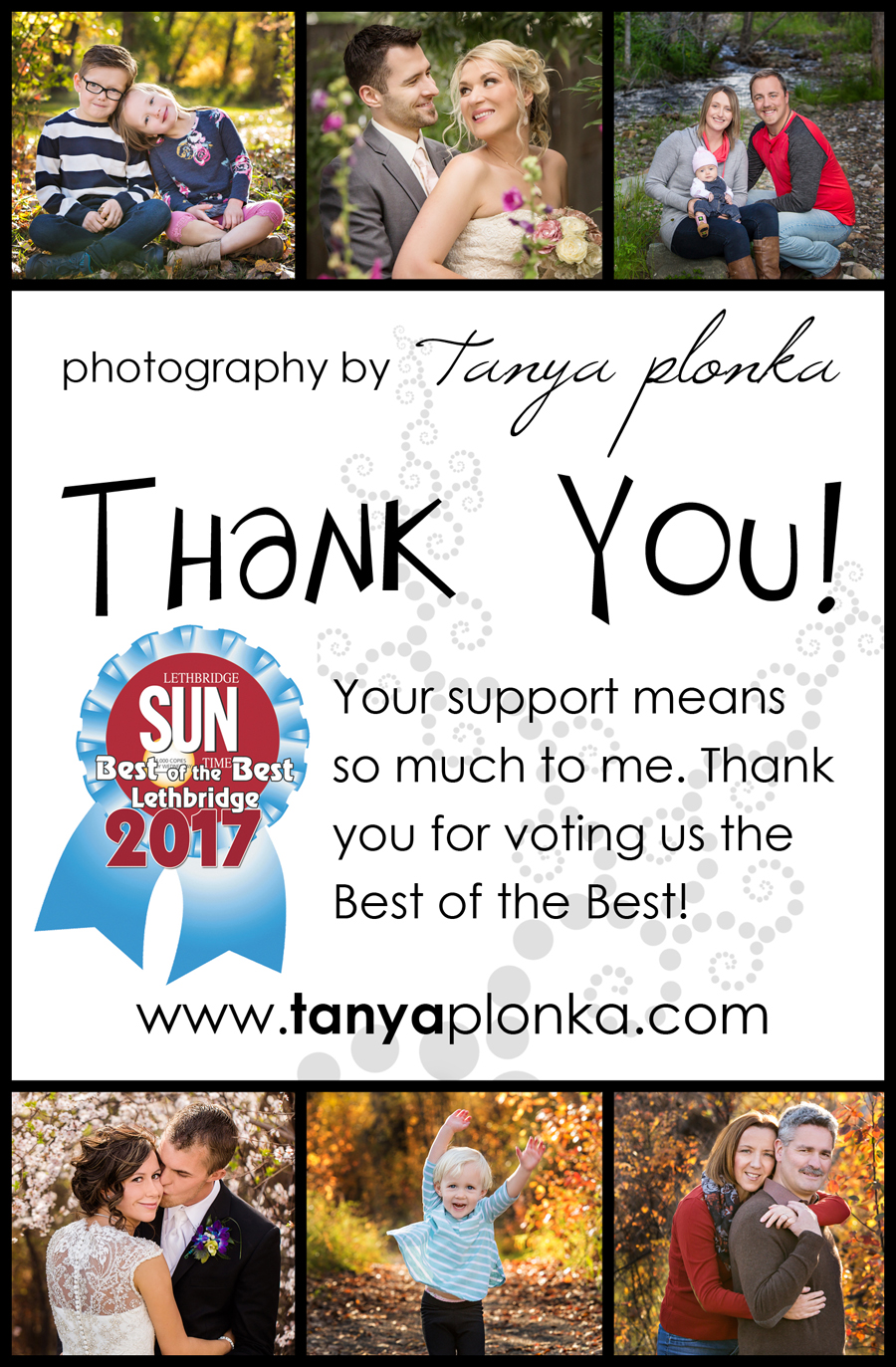 Sun Times Best of the Best 2017 photographer in Lethbridge