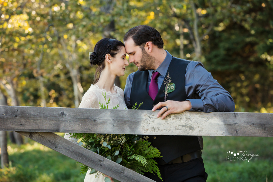 Romantic Gladstone Mountain Ranch Forest Wedding