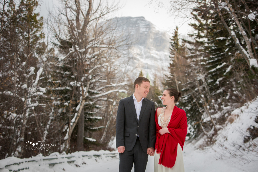 Waterton Winter Elopement