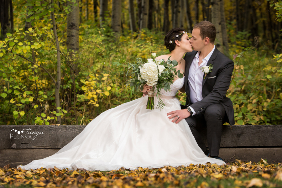 Autumn Goat Mountain Getaway Wedding