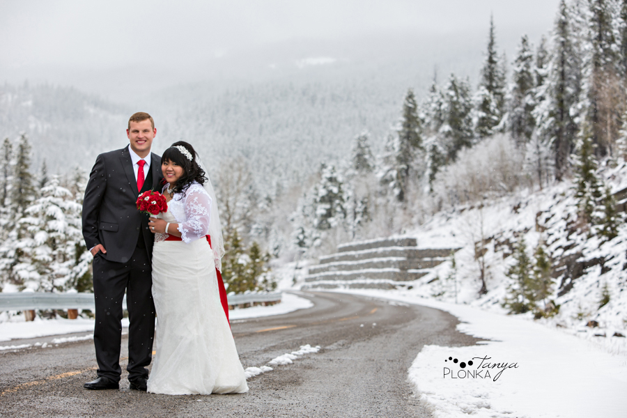 Magical Crowsnest Pass Winter Wedding