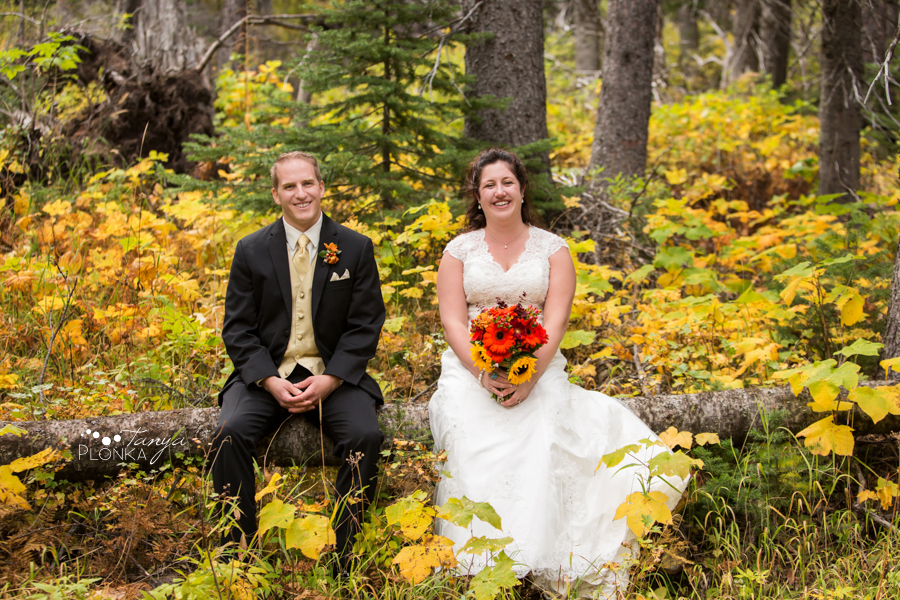 Autumn Waterton Lakes Lodge Wedding