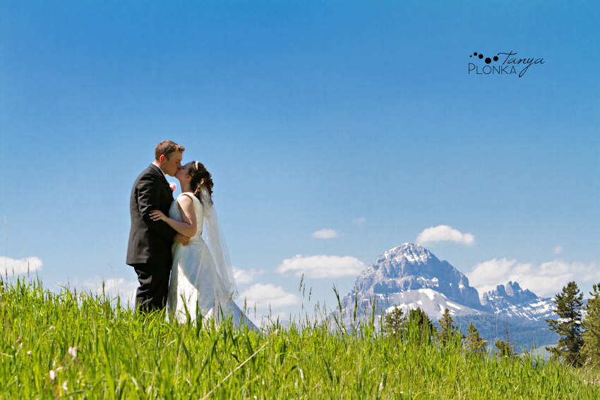 Scenic Crowsnest Pass Ski Hill Wedding