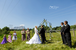 Intimate Crowsnest Pass Wedding
