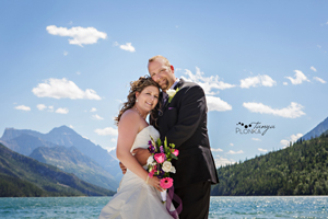 Intimate Waterton Mountain Wedding