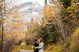 Intimate Waterton Wedding