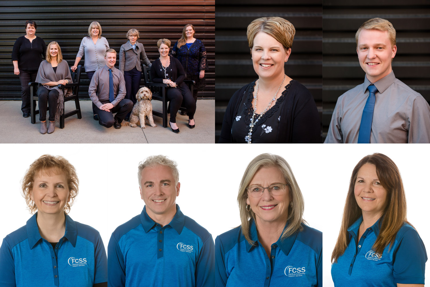 Lethbridge staff headshot samples
