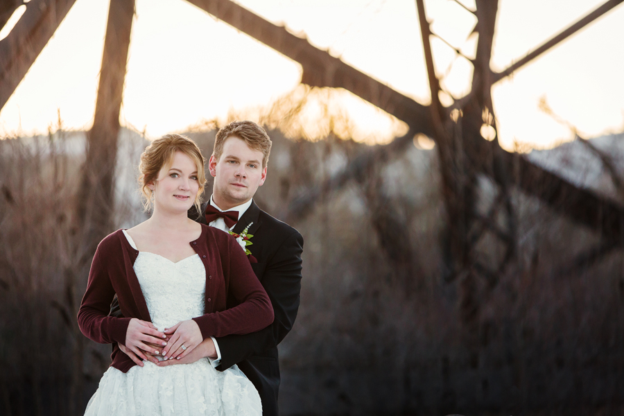 Annelies & Kyle Lethbridge Winter Wedding
