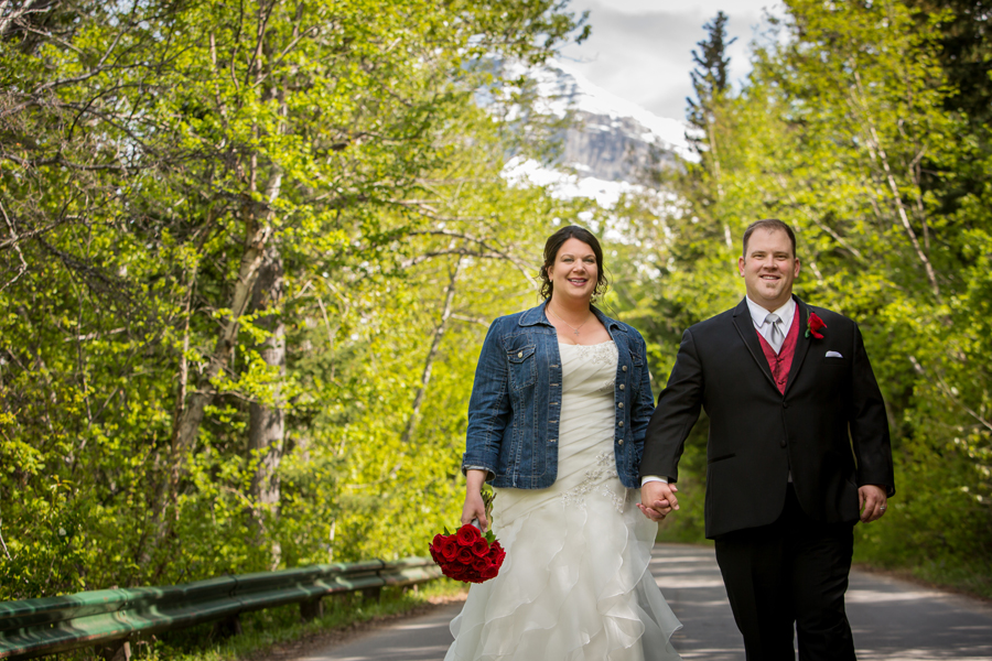 Jessica & Jared Waterton spring wedding